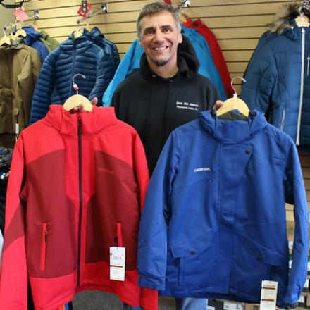 Winter Clothing Rentals